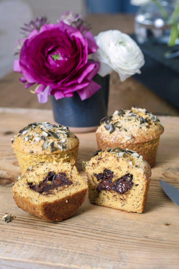 muffin butternut chocolat